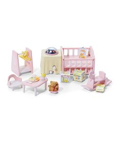 Look at this Calico Critter Night-Light Nursery Toy Set on #zulily today!