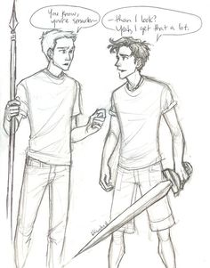 Aww percy you look plenty smart. And attractive :)