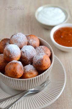 Sült túrógombóc Muffin, Food And Drink, Sweets, Breakfast, Hungarian Recipes, Bakken, Eten, Morning Coffee, Good Stocking Stuffers