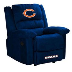 Chicago Bears recliner!