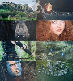 This is a fun idea-- what if Merida was the sole child Murrain was able to produce to William Wallace? No lie, that'd be a fun crossover.