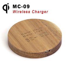 Дешевое MC 09 Qi Wireless Charging Pad TI Chip Ultra thin Wireless Charger Transmitter for iPhone 6 5S Samsung S6 S5 Nokia Lumia 920, Купить Качество Зарядные устройства и доки непосредственно из китайских фирмах-поставщиках:     MC-09 Qi Wireless Charging Pad TI Chip Ultra thin Wireless Charger Transmitter for iPhone 6 5S Samsung S6 S5 Nokia L