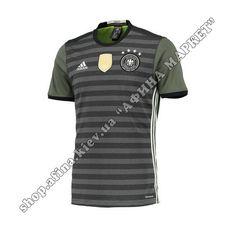Игровая футболка Германии ЕВРО-2016 Адидас выездная