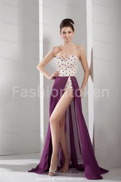 Floor-Length Chiffon Sweetheart A-Line Special Occasion Dress