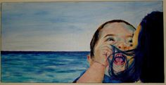 operation smile_70x40 cm  oil on canvas