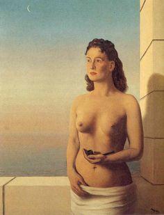 René Magritte - La liberté de l'esprit (1949), huile sur toile,