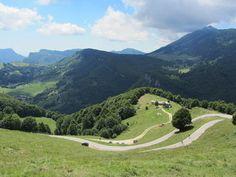 Nordauffahrt: Serpentinen kurz vor der Bocca del Creer. Golf Courses, Sports, Lake Garda, Bicycling, Hs Sports, Sport