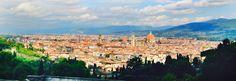 Ecco la bellissima Firenze!