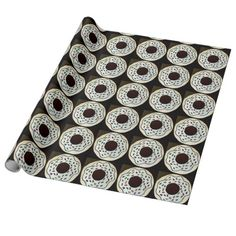 sprinkled doughnut wrapping paper