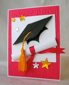 F4A218 - Congrats Grad! by Pam MacKay - Cards and Paper Crafts at Splitcoaststampers