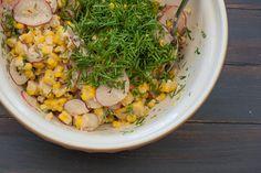 Click here for this super delicious corn & miso salad!