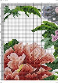 Gallery.ru / Фото #1 - 18 - kento Cross Stitch Bird, Cross Stitch Patterns, Needle And Thread, Anna Lee, Chinese, Punto Croce, Log Projects, Paper, Flowers