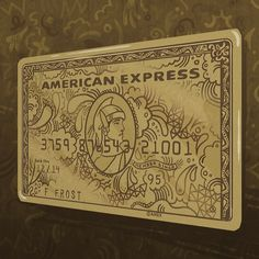credit card art Here we bring you a gallery of more than 30 images of credit cards with unique designs and interesting, with what American you give us American Express Gold Card, Amex Card, Credit Card Design, Member Card, Bank Card, Rich Kids, Marketing Digital, Credit Cards, Graphic Design