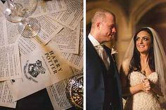 This Harry Potter Wedding Was Tasteful AF. I almost cried looking at this ❤ #pefection