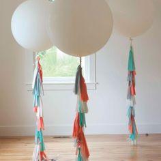Tassel Balloons How To