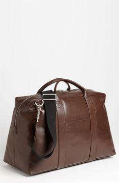 5b7a9d2daf54 Jack Spade  Wayne  Leather Duffel Bag