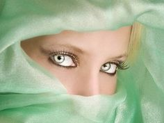 Pale Green eyes