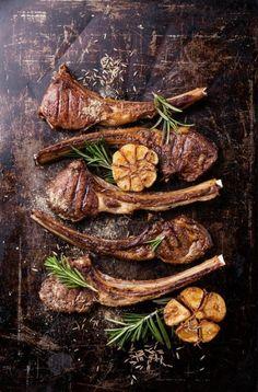 Lamb Recipes, Meat Recipes, Cooking Recipes, Family Recipes, Meatloaf Recipes, Dinner Recipes, Lamb Ribs, Lamb Chops, Diet Food List