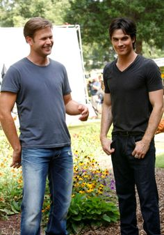 "Behind the scenes of ""The Vampire Diaries"" 3x04 Disturbing Behavior #TVD"