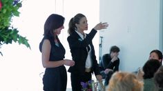 Lucy Siegle and Livia Firth speak at Home Eco-logics: Women's Lunch