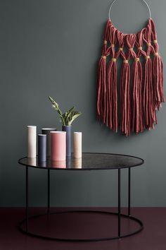 black table and purple ground #interiordesign