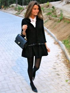 Pantyhose Outfits, Juicy Couture, High Boots, Stylish Outfits, Zara, British, Beautiful Women, Elegant, My Style