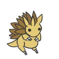 028 sandslash by pinkbunnii.deviantart.com on @DeviantArt