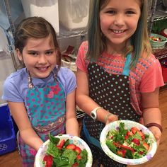 #masterchefjr salad challenge  Chef's learned to make vinaigrettes and created their own (very tasty) recipes!  #masterchefjr #Eatyourveggies #localag by patriciastable
