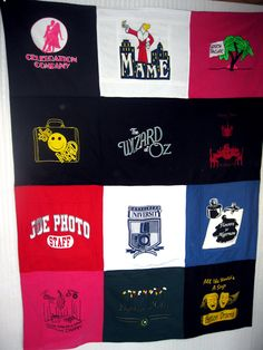 Sweatshirt Blanket  •  Recycle a t-shirt quilt