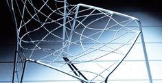 ESEDRA DESIGN - ARIA - Sedia in filo metallico cromata o laccata - STUDIO BATONI http://www.esedradesign.it/product.asp?id=28
