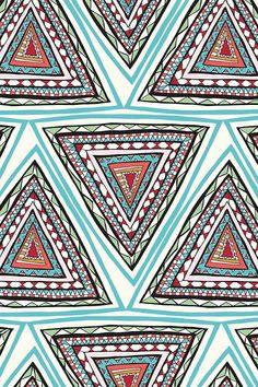 pattern | triangolo