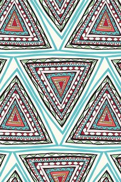 Prints + Patterns. #Print #Pattern #Triangle