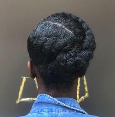 Protective Hairstyles For Natural Hair, Natural Hair Braids, Natural Hair Tips, Medium Length Natural Hairstyles, Short Natural Hairstyles, Natural Protective Styles, Short Natural Curly Hair, Natural Life, Natural Beauty