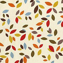 Buy John Lewis Scattered Leaves Fabric Online at johnlewis.com