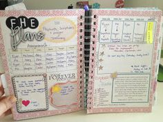 FHE planning pages