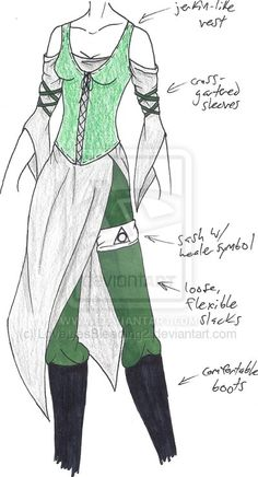 witches concept outfit except symbol is the Deathly Hallows symbol