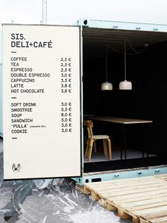 sis deli+cafe . finland . scandinavian delicatessen specializing in ecological and organic products .