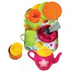 Backyard Play You'll Love in 2020 Coffee Service, Tea Service, Play Kitchen Sets, Backyard Play, Bath Toys, Coffee Set, Paris, Play Houses, Measuring Cups