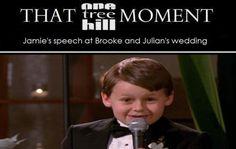 Jamie's speech at Brooke and Julian's wedding