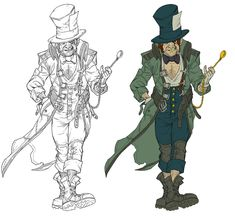 View an image titled 'Mad Hatter Art' in our Batman: Arkham City art gallery featuring official character designs, concept art, and promo pictures. Batman Arkham City, Batman Arkham Origins, Gotham City, Mad Hatter Character, Character Art, Character Design, Batman Dark, Batman The Dark Knight, Concept Art Batman