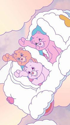 """🎶 """"The Fight Song"""" 🎶 from Care Bears Movie 2 Cute Disney Wallpaper, Kawaii Wallpaper, Cute Wallpaper Backgrounds, Wallpaper Iphone Cute, Cute Cartoon Wallpapers, Aesthetic Iphone Wallpaper, Aesthetic Wallpapers, Care Bears, Bear Wallpaper"""