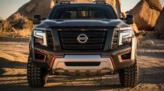 Nissan Titan Warrior Concept is an XD with a hardcore makeover