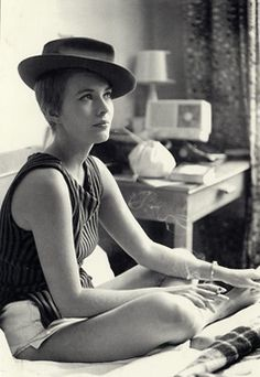 French new wave style - photo Jean Seberg