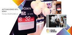 @colorimpresosac Logistica para Activacion BTL, merchandising (gorras, polos, lapiceros, globos, flyers, rollscreen) l#SONY cotizaciones@colorimpresosac.com
