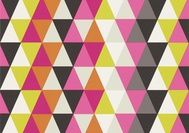 Harlequin All About Me Wallpaper - Kaleidescope - Pink/Orange/Multi available at Bryella. Call 01226 767124 for a competitive price.
