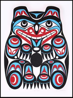 Black Bear by Joe Wilson Coast Salish Nation