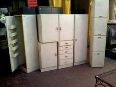 """ensemble de meubles de cuisine vintage """"sty cubex"""" d'occasion"""