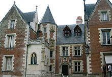Clos Lucé in Amboise, France, where Leonardo da Vinci died in 1519.