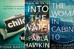 Paris Close's May 2017 TBR: Fiona Barton, Paula Hawkins and More