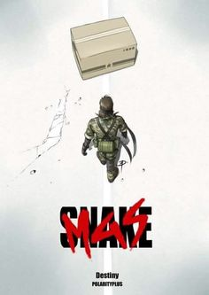 Metal Gear Solid 3 Snake Akira Cover